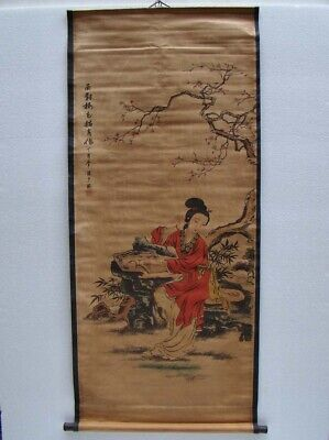 Collectible Chinese celebrity Handmade Old Calligraphy and painting rice paper
