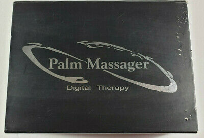 (Blue) Palm Massager Digital Therapy Teens Unit Muscle Simulator