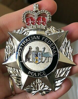 AFP Australian Federal,  commonwealth Badge Series 1 one