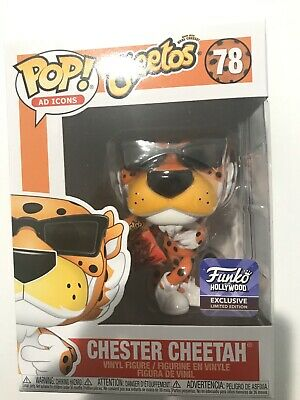 Funko Pop Ad Icons Chester Cheetah  Cheetos Hollywood Hq Exclusive