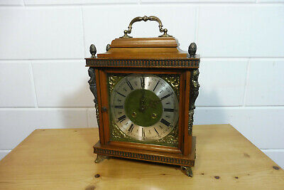 Antique Table Clock Mantel Clock Dutch