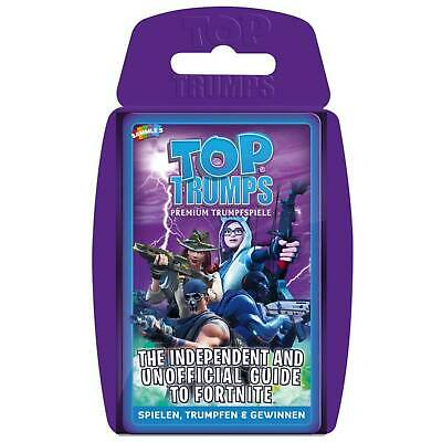 Top Trumps Card Game - The Independent And Unofficial Guide To Fortnite