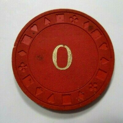 O CASINO Poker Chip Nevada Nv  Ewing Mold Found with Las Vegas Chips