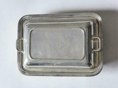 Hardy Bros Vintage Silver Plated Tureen, EPNS Serving Dish, High Tea Platter