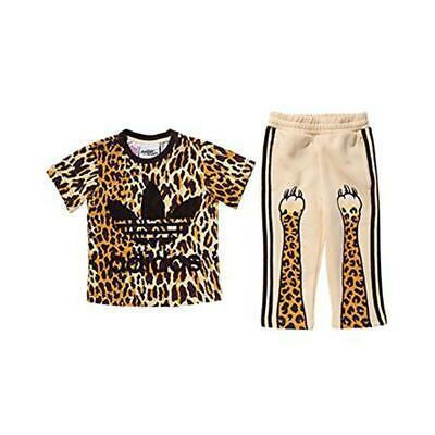 Adidas X Jeremy Scott Junior Leopard Print 2 Piece Suit Ac2498