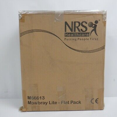 NRS M66613 Mowbray Toilet Seat and Frame Lite - Width Adjustable, Flat Pack BN