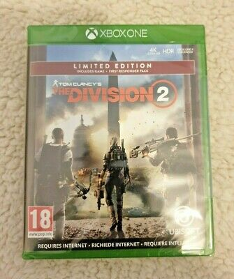Tom Clancy's The Division 2 Limited Edition NEW (Xbox One, 2019) FREE POST