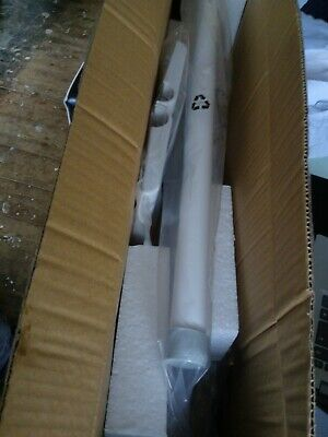 Akw Medicare Hinged Fold-Up Double Hairpin Rail 01810Wh 06-01-303 Bnib