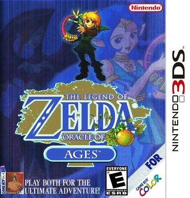 • The Legend of Zelda: Oracle of Ages • Nintendo 3DS • Digital Full Game • 2DS •