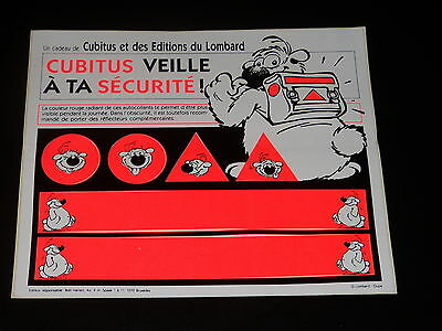 Stickers - Cubitus - Eve on ta Safety - Dupa - Lombard
