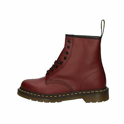 Dr. Martens 1460 SMOOTH Anfibi bordeaux in pelle