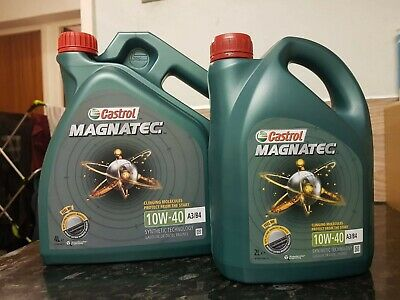 Castrol Magnatec 10w40 Diesel Petrol Part Synthetic Car Engine Oil 4L + 2L = 6 L