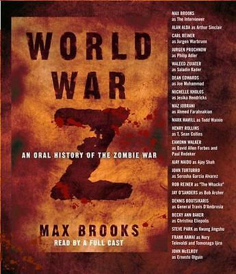 World War Z : An Oral History of the Zombie War by Max Brooks (2007, CD,...