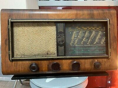 Très RARE Radio TSF Lafayette France 1948 - Ondes Courtes / GO / PO / Pick-Up