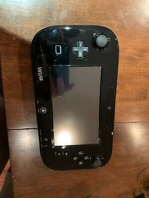 Official Wii u black gamepad only Nintendo