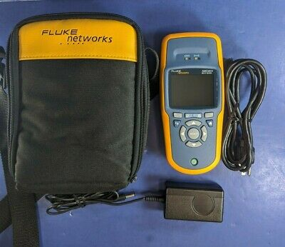 Fluke Networks Aircheck Wifi Tester Analyzer Logger, Excellent! Case