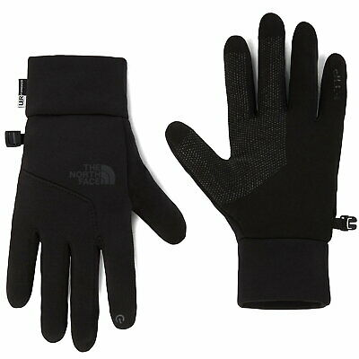 The North Face Etip Touchscreen Gloves In TNF Black