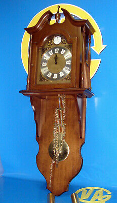 Antique Clock Pendulum Wall Junghans - Box Craft wood -Dial and pendulum