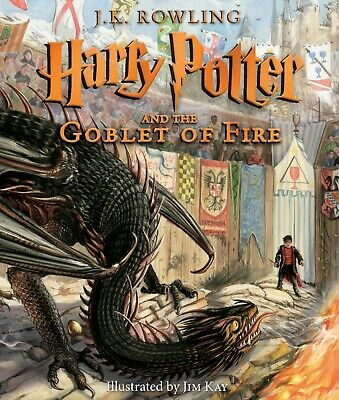Harry Potter and the Goblet of Fire Illustrated Edition HARDCOVER 2019 New