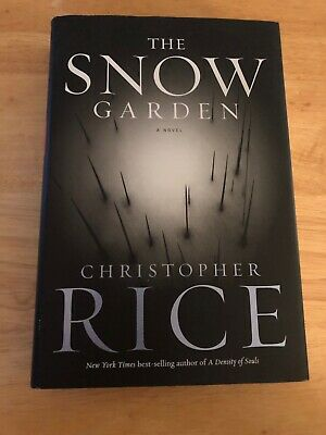 The Snow Garden by Christopher Rice, Hardcover, Signed, 1st/1st