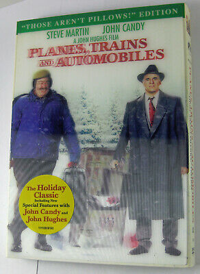 """Planes, Trains & Automobiles (1987) (""""Those Arent Pillows"""" Edition) DVD NEW!"""