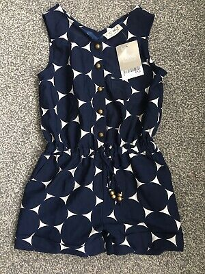 BNWT New Next Girls Short Playsuit / Jumpsuit outfit Age 4 Years new