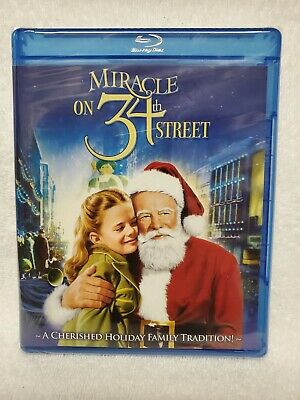 Miracle on 34th Street [Blu-ray] Maureen O'Hara NEW! Christmas Classics New