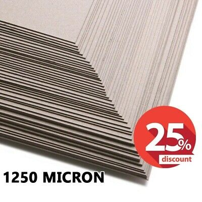 1250 Micron Greyboard, A2, SRA2, 1.25mm Card, Thick Mount Backing Board, SALE