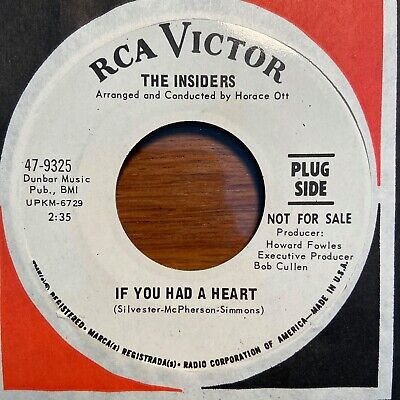 Northern Soul 45 The Insiders - If You Had A Heart HEAR! RCA