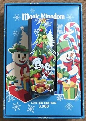 MVMCP Mickey's Very Merry 2016 Christmas Party Disney Magicband LE 3000 UNLINKED