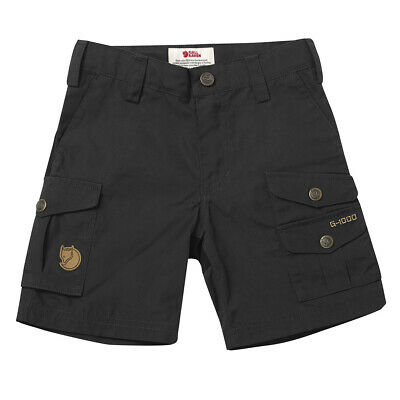Fjallraven Kids Vidda Shorts Dark Grey - SALE!