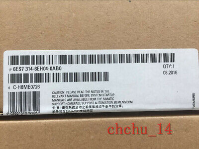 Siemens 6ES7314-6EH04-0AB0 6ES7 314-6EH04-0AB0  brand and new New Fast delivery