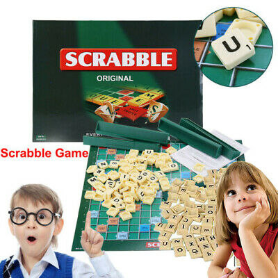 Original Scrabble Board Game Family Kids Adults Educational Toys Puzzle Game