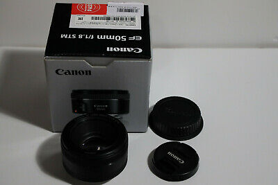 Canon  EF 50mm f/1.8 STM SLR Like NEW