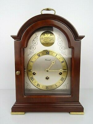 Dutch Warmink Westminster Vintage Antique Mantel Shelf 8 day Clock Holland