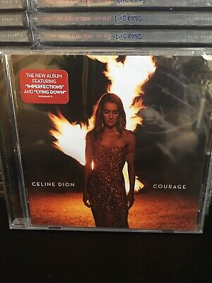 CELINE DION - COURAGE Album CD - BRAND NEW SEALED  Free FAST Shipping