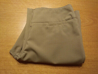 Women's New York & Company Petite Size 6P Beige Stretch Dress Pants Inseam 28!!