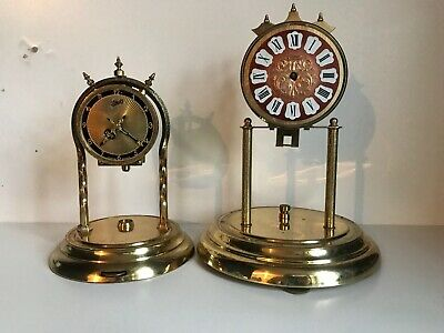 Vintage Clock Aniversary Schatz and Other Clocks  For Spares/ Repair