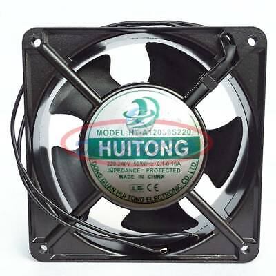 1PC HT-A12038S220 220-240V 0.1-0.16A High temperature cooling fan NEW