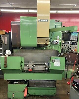 1988 Mori Seiki MV-Junior 3-Axis Simultaneous VMC - Yasnac, 1Meg, 4th Axis Ready
