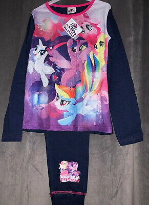New My Little Pony The Movie Girls Long Sleeved And Leg Pjs Age 4-5Yrs
