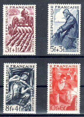 FRANCE 1949 TIMBRE N° 823 à 826 SERIE DES METIERS ** LUXE