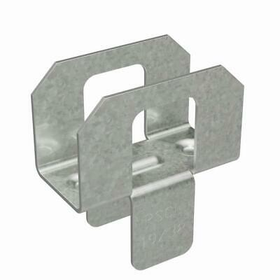 Simpson Strong-Tie PSCL 19/32 in. 20-Gauge Galvanized Sheathing Clip Qty 250