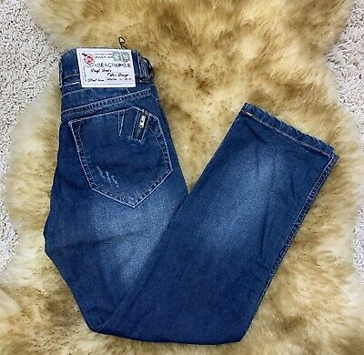 ABERCROMBIE & Fitch boys jeans cotton sz 32  made in Italy