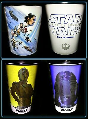 Star Wars The Rise Of Skywalker Movie Tin, Cup, Tin & Cup Set - Lucas Films NEW