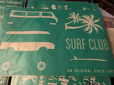 Chalk Couture Transfer, Surf Club