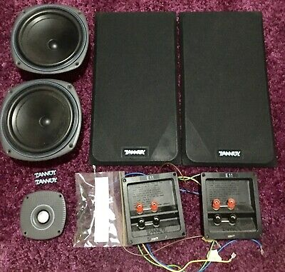 Tannoy E11 speaker component kit. Woofer. Tweeter. Crossover.