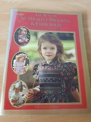 Craft Book: The Best Of Australian Smoking &  Embroidery 55pg
