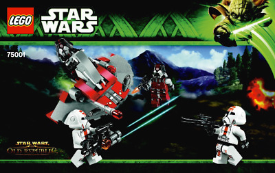 Lego Star Wars - Republic Troopers vs Sith Troopers - 75001