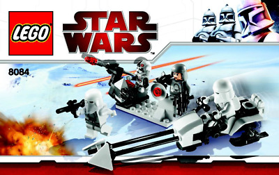 Lego Star Wars - Snowtrooper Battle Pack - 8084